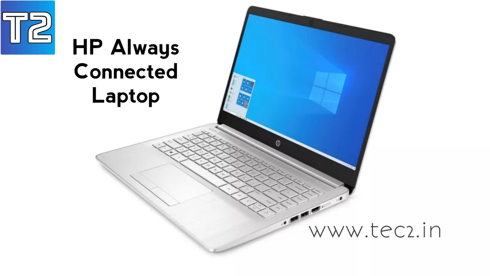 """HP """"Always Connected"""" Laptop"""