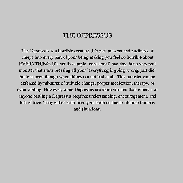 Personal Monsters - The Depressus