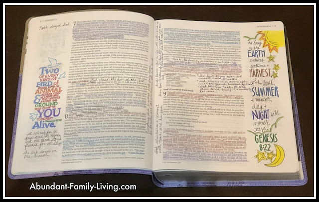 Beautifiul Word Coloring Bible