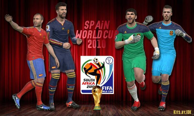 47eccfff3ba Spain World Cup 2010 Kits - PES 2017 - PATCH PES | New Patch Pro ...
