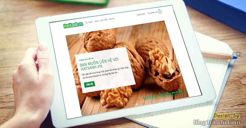 Thiết kế website shop bán hàng trái cây nhập khẩu