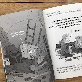 Mattis und Kiste: Abenteuer im Ferienlager