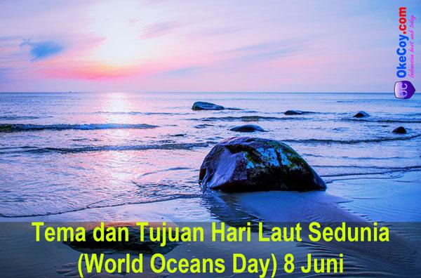 hari laut sedunia internasional tema tujuan nasional indonesia