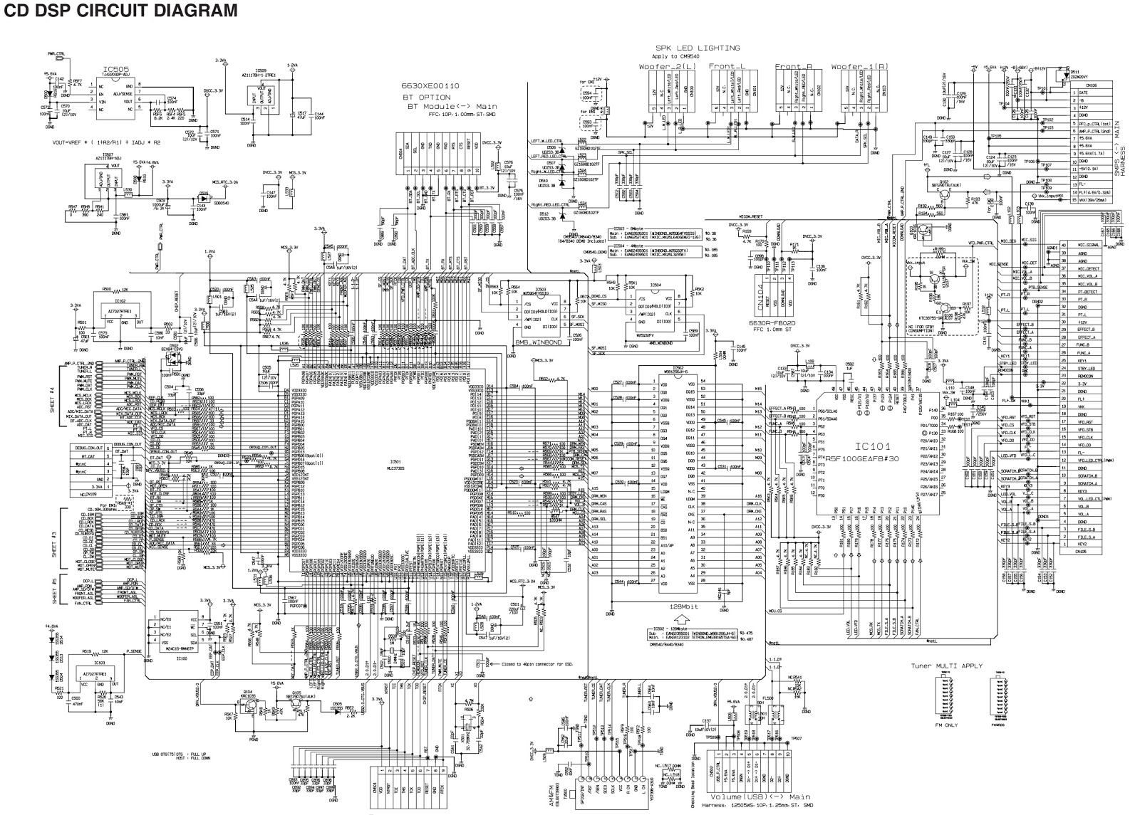 Lg Cm8340 Smps And Power Amplifier Circuit Diagram Software Update Program Download