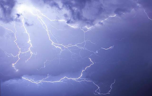 Πρόβλεψη για ισχυρές καταιγίδες την Τετάρτη 9/6 και στην Αργολίδα