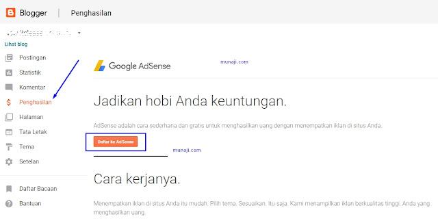 Iklan Google AdSense dari Blogspot