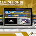 المجموعة الثانية من أعمال ويب تكنيك لتصميم المواقع والمدونات الإلكترونية