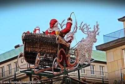 Hamburg Weihnachtsmarkt, Weihnachtsmärkte in Hamburg