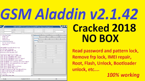 Download GSM Aladdin V2 1.42 Crack Latest 2020