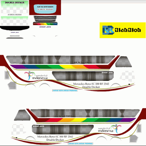 Download Livery Bussid Bimasena SDD Sinar Jaya