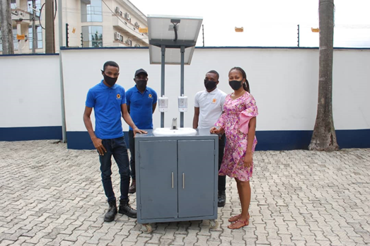 PSC Solar UK Debuts COVID-19 Contactless Portable Solar Powered Hand Wash/Sanitizer Stations in Nigeria, Ghana, Niger, Benin and Togo