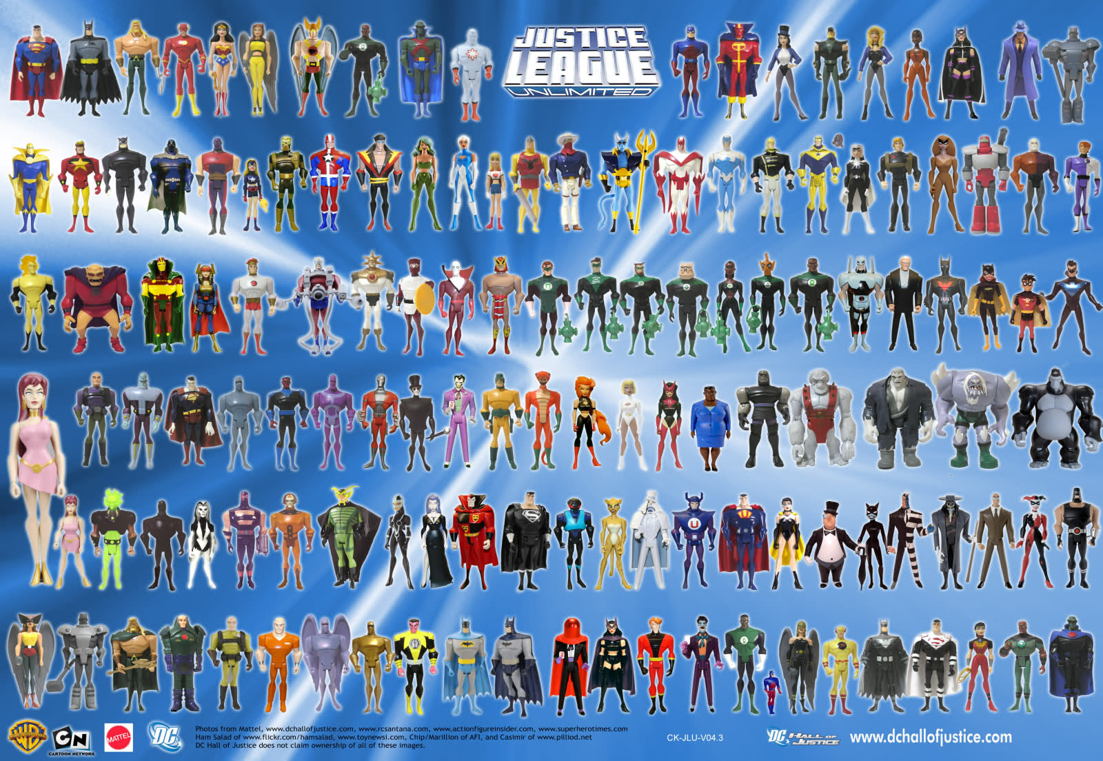 Justice League Unlimited - Cast Images | Behind The Voice ... |Justice League Unlimited Characters