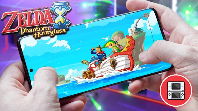 The Legend of Zelda: Phantom Hourglass Para Teléfonos Android (ROM NDS)