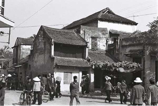 Hà Nội xưa - phố Nguyễn Siêu