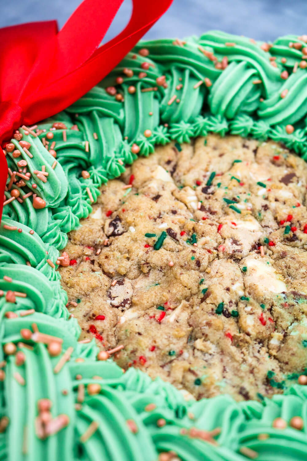 Giant Christmas Cookie | Take Some Whisks