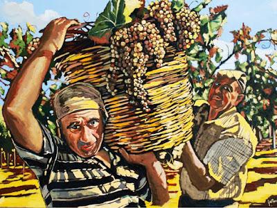 harvest italy
