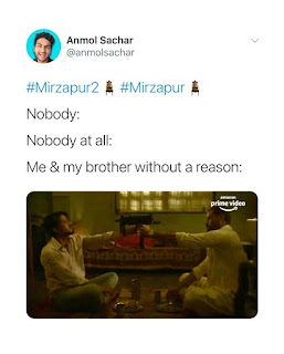 brothers fight | maqbool | Mirzapur 2 Memes(from Mirzapur 2 trailer)