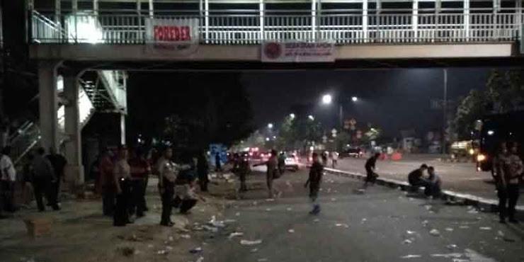 "Ini Penampakan ""Mengerikan"" Kota Jakarta Dini Hari Usai Demo Pro Ahok"