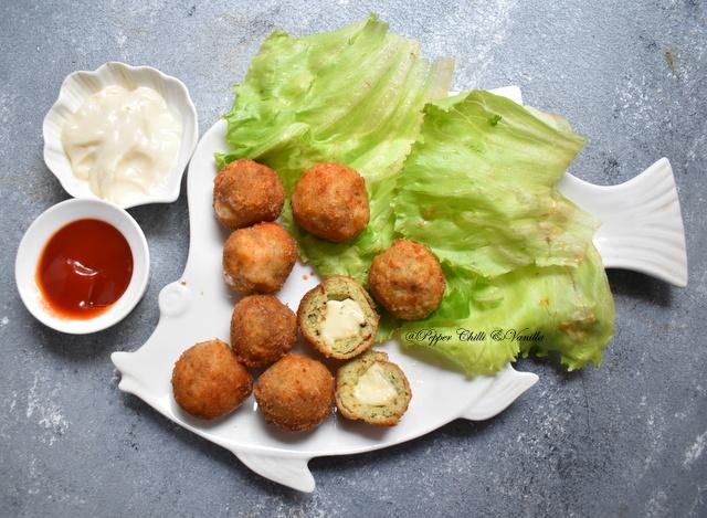 homemade chicken cheese balls recipe