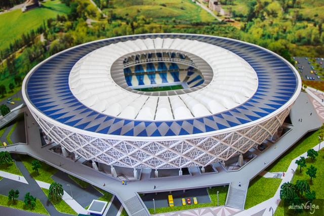 Volgogrado –  Volgogrado Arena - 45.568