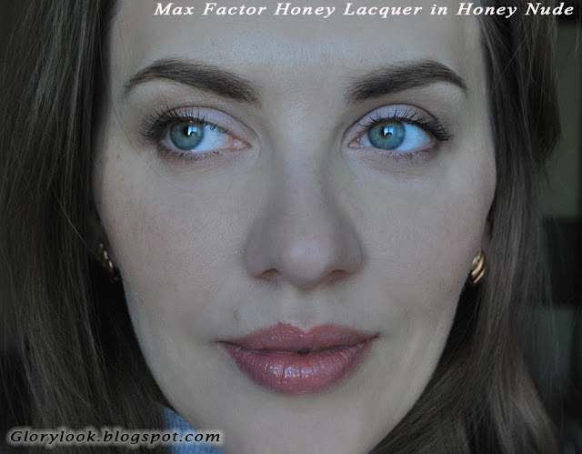 Жидкая лаковая помада Max Factor Honey Lacquer в оттенке Honey Nude