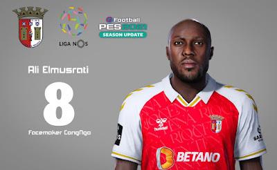 PES 2021 Faces Ali Elmusrati by CongNgo
