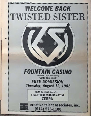 Fountain Casino band line up