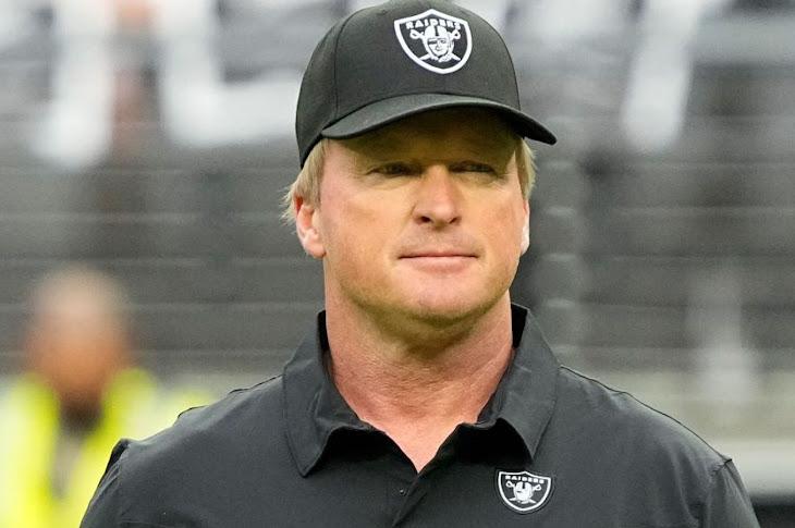 Jon Gruden Is Out As Raiders Head Coach