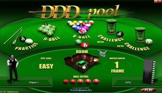 DDD Pool PC Game Free Download