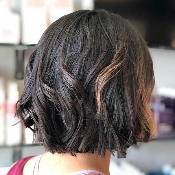 Short Layers Haircut