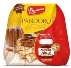 Lançamento Bauducco Natal 2019 Pandoro Nutella