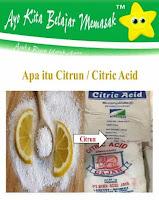 Apa Itu Acid Citrun dan Kegunaannya