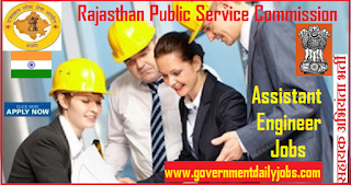 RPSC Jobs 2018 for 916 Assistant Engineer Vacancy for B.Tech/B.E