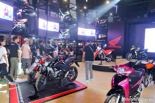 Honda Motorcycle Philippines Trade Show Pavilion