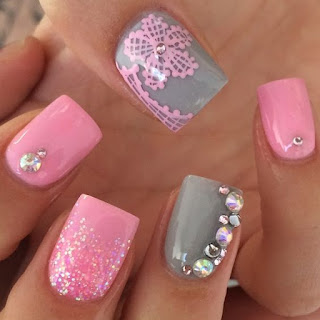 esmalte cor de rosa tendencia