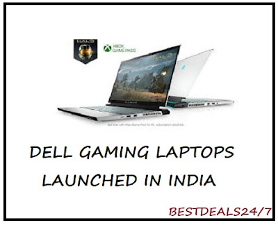 Dell Gaming Laptops launched in India