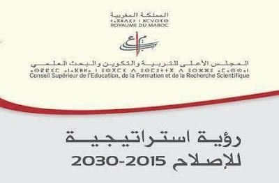 تلخيص الجزء الأول من عرض الرؤية الاستراتيجية 2015-2030