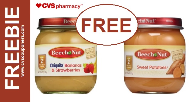 FREE Beech Nut Baby Food CVS Deal - 77-713