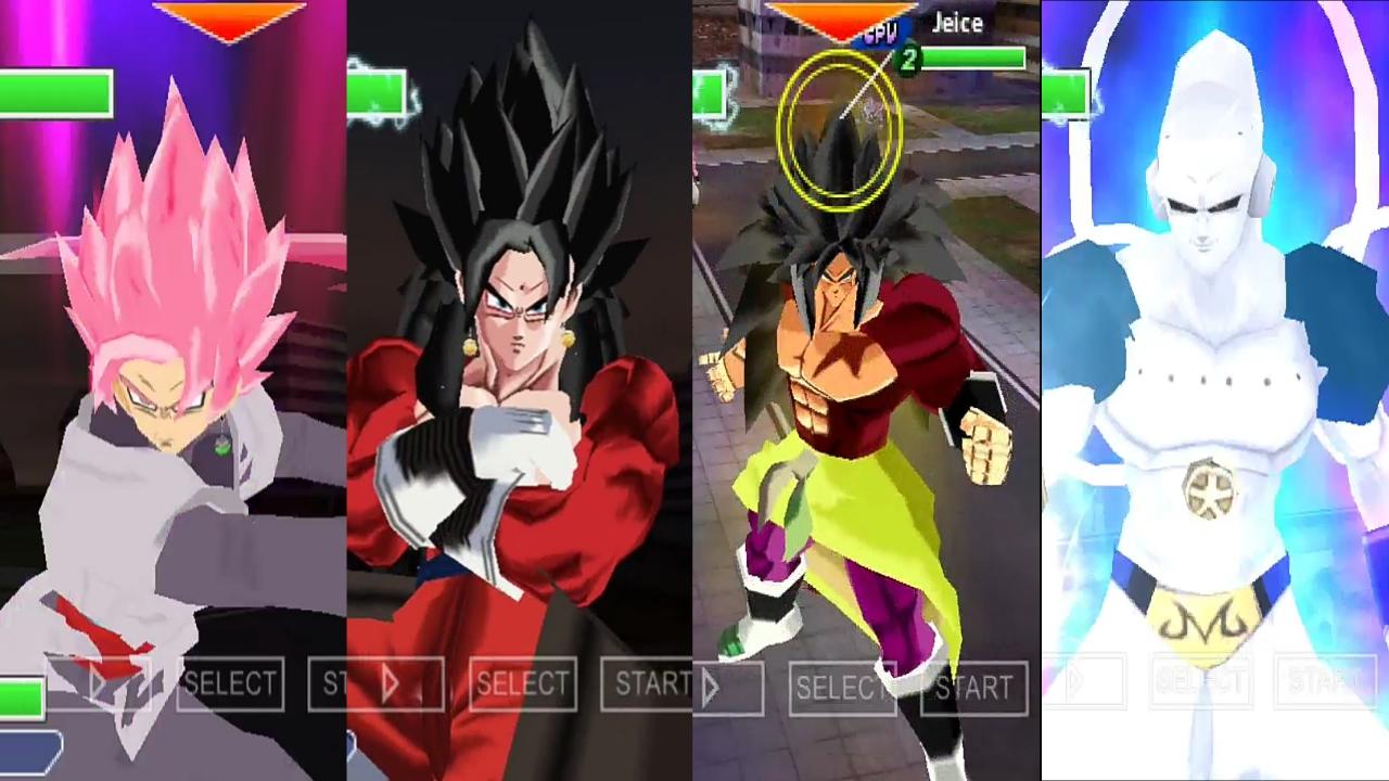 DBZ Tenkaichi Tag Team Mod PSP