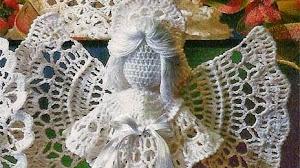 Bellísimo ángel al crochet