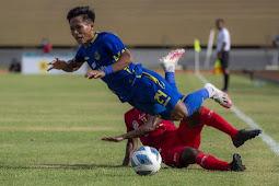 Tim Sepakbola Nusa Tenggara Timur Kalah 1-0 dari Jawa Barat