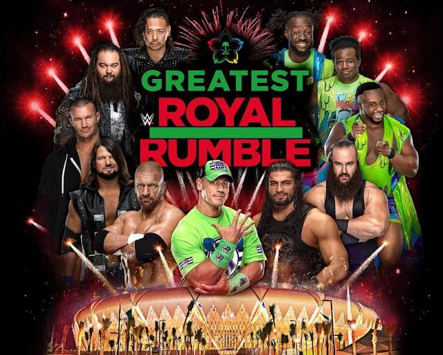 القنوات المجانية الناقلة أعظم رويال رامبل في السعودية مجاناً - WWE Greatest Royal Rumble