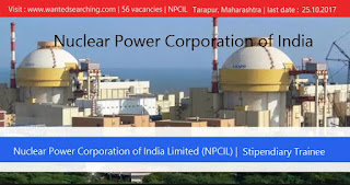 Nuclear-Power-Corporation-of-India-job-vacancies-2017