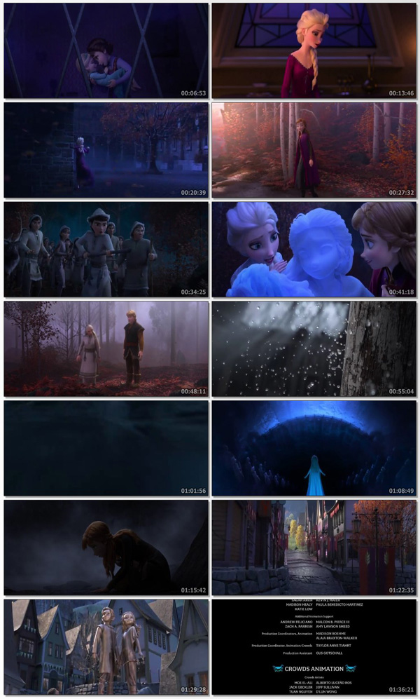 Frozen II 2019 Dual Audio