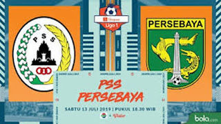 Persebaya Surabaya Vs PSS Sleman di Liga 1 2019