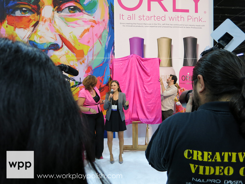 Orly It All Started with Pink Campaign Reception