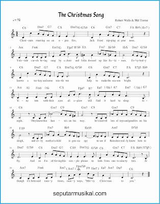 christmas song lagu jazz standar