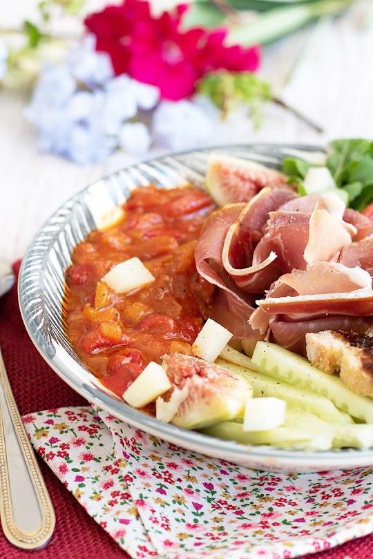 recette Salade au jambon cru