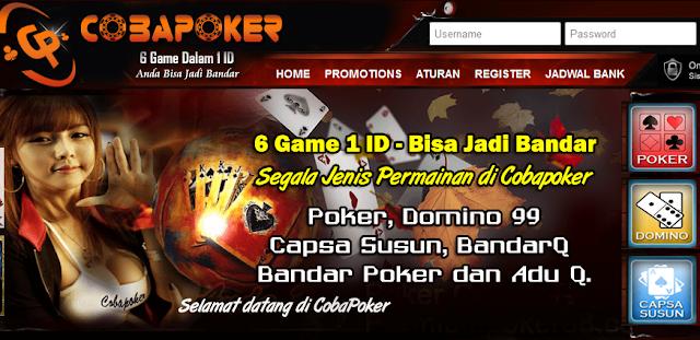 Cobapk.Com Situs Poker Online Uang Asli Terbaru 2017 Terpercaya Indonesia