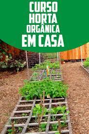 Curso Online de Horta Orgânica em Casa